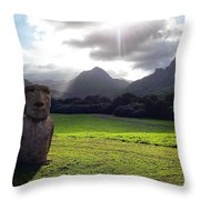 Beautiful Hawaii Throw Pillow