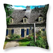 Beautiful Home ... Throw Pillow by Juergen Weiss