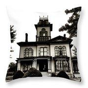 Beautiful House Throw Pillow