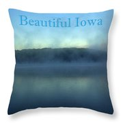 Beautiful Iowa Throw Pillow