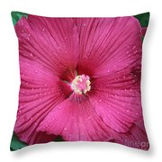 Beautiful Large Hibiscus Throw Pillow