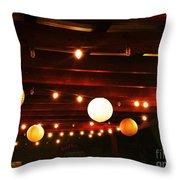 Beautiful Lights Throw Pillow