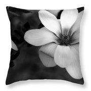 Beautiful Magnolia Throw Pillow