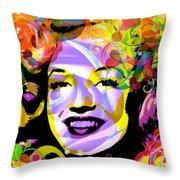 Beautiful Marilyn Monroe Throw Pillow