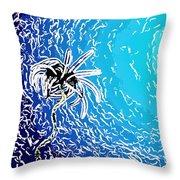 Beautiful Marine Plants 2 Throw Pillow by Lanjee Chee