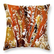 Beautiful Marine Plants 8 Throw Pillow by Lanjee Chee