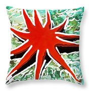 Beautiful Marine Plants 9 Throw Pillow