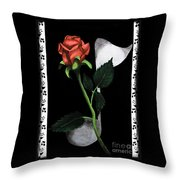 Beautiful Melody Throw Pillow