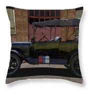 Beautiful Model T Touring Car Throw Pillow