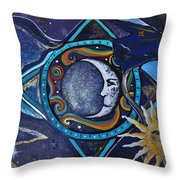 Beautiful Nightmare Throw Pillow