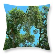 Beautiful Oak Throw Pillow