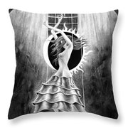 Beautiful Odyssey  Throw Pillow