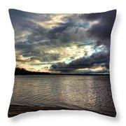 Beautiful Oklahoma Skies Throw Pillow
