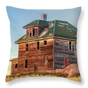 Beautiful Old House Throw Pillow