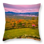 Beautiful Overview Of New Hampshire Throw Pillow