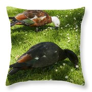 Beautiful Pair Throw Pillow