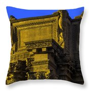 Beautiful Palace Of Fine Arts Throw Pillow