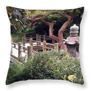 Beautiful Park In San Francisco Throw Pillow
