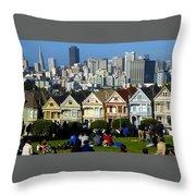 Beautiful San Francisco Throw Pillow