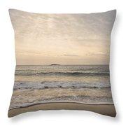 Beautiful Sand Beach Throw Pillow