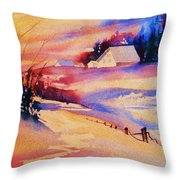 Beautiful Serenity Throw Pillow