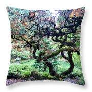 Beautiful Japanese Garden,butchart Gardens,victoria,canada 2. Throw Pillow
