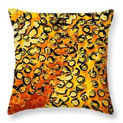 Beautiful Soft Coral 4 Throw Pillow by Lanjee Chee