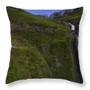 Beautiful Spring Falls Throw Pillow
