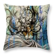 Beautiful Struggle Throw Pillow