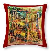 Beautiful Sulmona Italy Throw Pillow