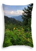 Beautiful Summer Throw Pillow