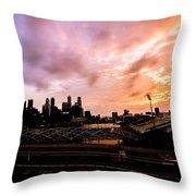 Beautiful Sunset 2 Throw Pillow