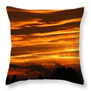 Beautiful Sunset Throw Pillow