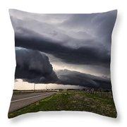 Beautiful Texas Storm Throw Pillow
