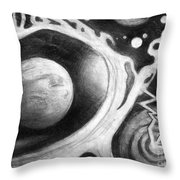 Beautiful Universe. Space Art Throw Pillow