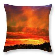 Beautiful Utah Sunset Throw Pillow