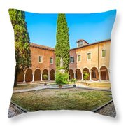 Beautiful Venetian Patio Throw Pillow