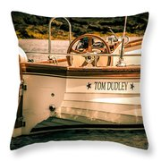 Beautiful Vessel Throw Pillow