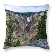 Beautiful View Throw Pillow