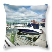 Beautiful View On The Elizabeth 7 Throw Pillow by Lanjee Chee
