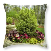 Beautiful Welcome Throw Pillow