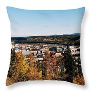 Beautiful Whitehorse ... Throw Pillow