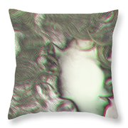 Beautiful Woman Throw Pillow