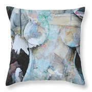Beautifully Broken Throw Pillow