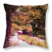 Beauty All Around Throw Pillow