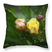 Beauty Among Thorns Throw Pillow