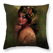Beauty And Nature Throw Pillow