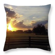 Beauty At Sunset Throw Pillow