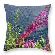 Beauty By Waters Edge Throw Pillow