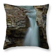 Beauty Creek Blue Falls Throw Pillow